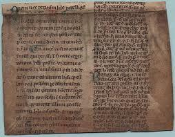 frammento del Corpus iuris civilis