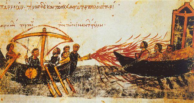 Il fuoco greco